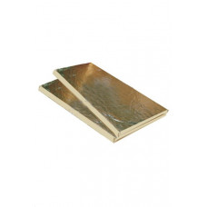 Базальтовый картон фольгированный 1000х600х10мм (20шт)