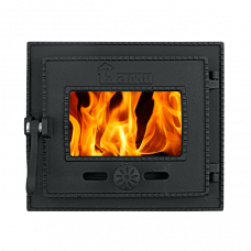 Дверка ДТГ-3БС (Р) топочная герметичная Ками крашенная (без стекла)