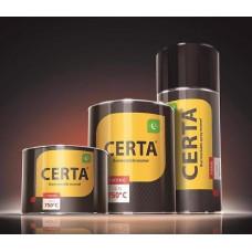 Краска термостойкая (банка 0,5 кг) Патина Золото CERTA