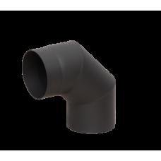Отвод LAVA черный 90°, 2 мм (120)