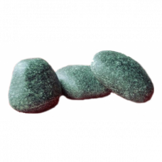Камень Жадеит Чёрный принц шлифованный (ведро 10 кг)