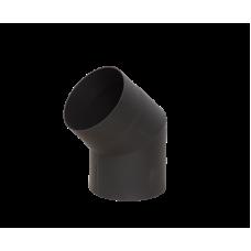 Отвод LAVA черный 45° , 2 мм